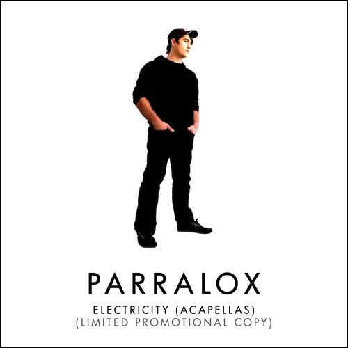 Parralox - Electricity (Acapellas) (Promotional CD) (2019)