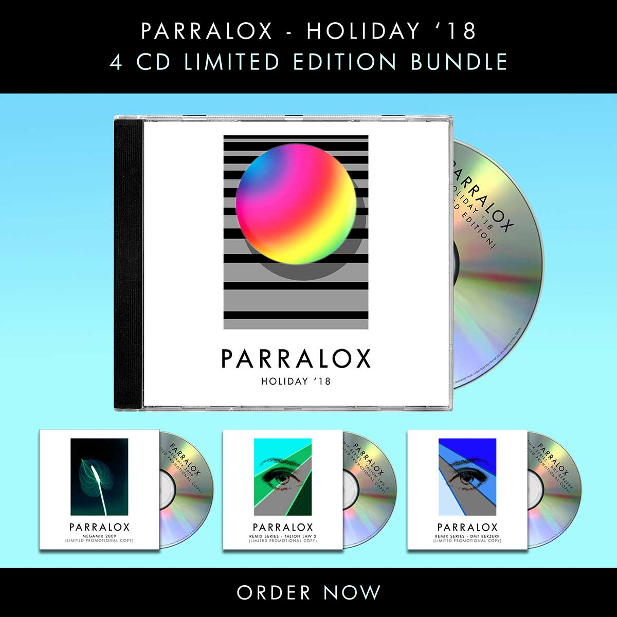 Purchade the 4CD Limited Edition Holiday 18 Bundle