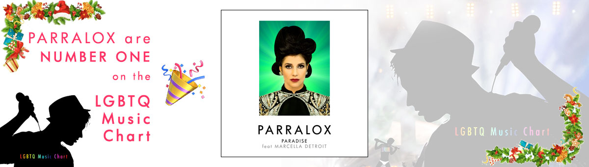 Parralox are Number One on the LGBTQ Music Chart UK