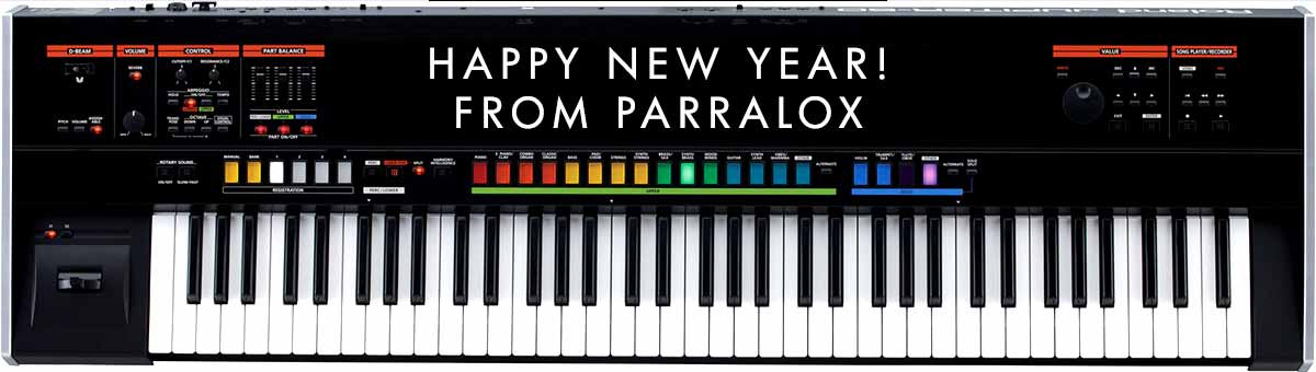 Happy New Year from Parralox!