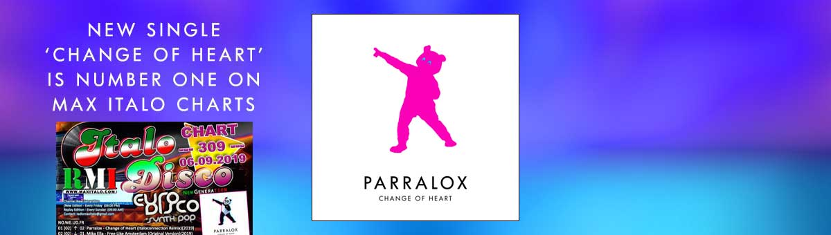 Parralox Number One on MaxItaloRadio Charts