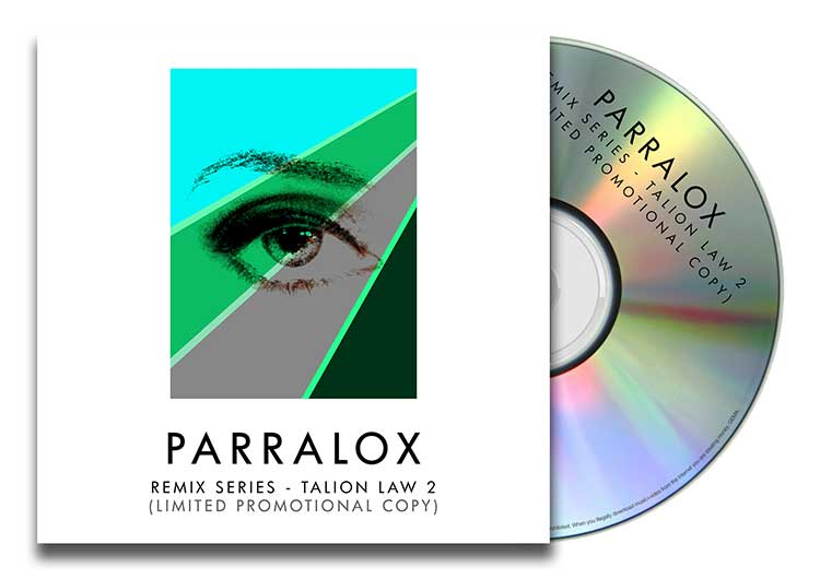 CD Paper Case - Parralox - Remix Series - Talion Law 2