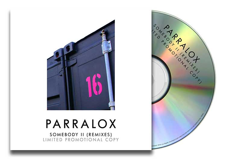 CD Paper Case - Parralox - Somebody II (Remixes)